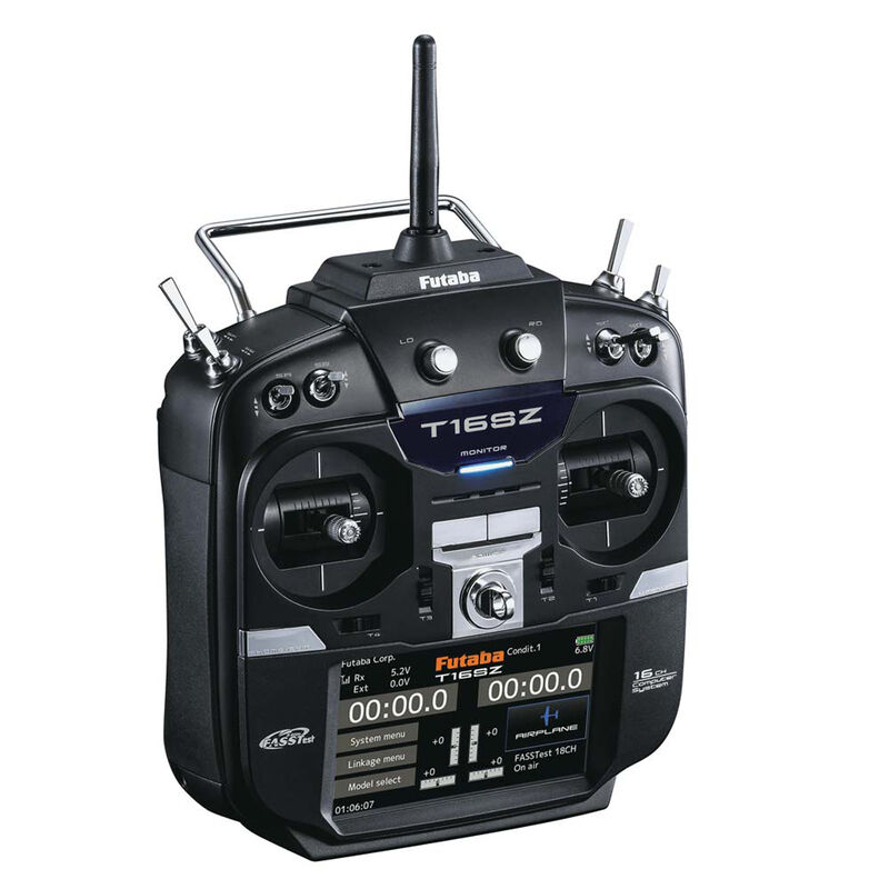 16SZA 16-Channel Air FASSTest Telemetry Radio