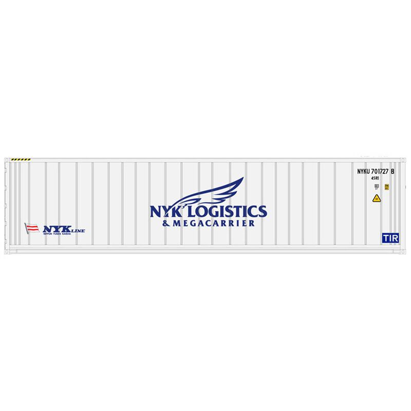 N 40' Refrigerated Container 3PK NYK Line Set #2