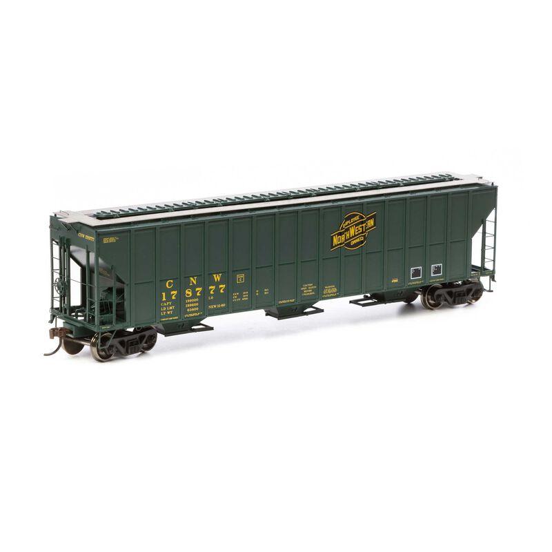 HO RTR FMC 4700 Covered Hopper C&NW #178777