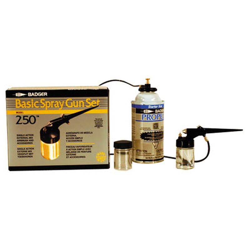 250 Spray Gun Set with Propellant