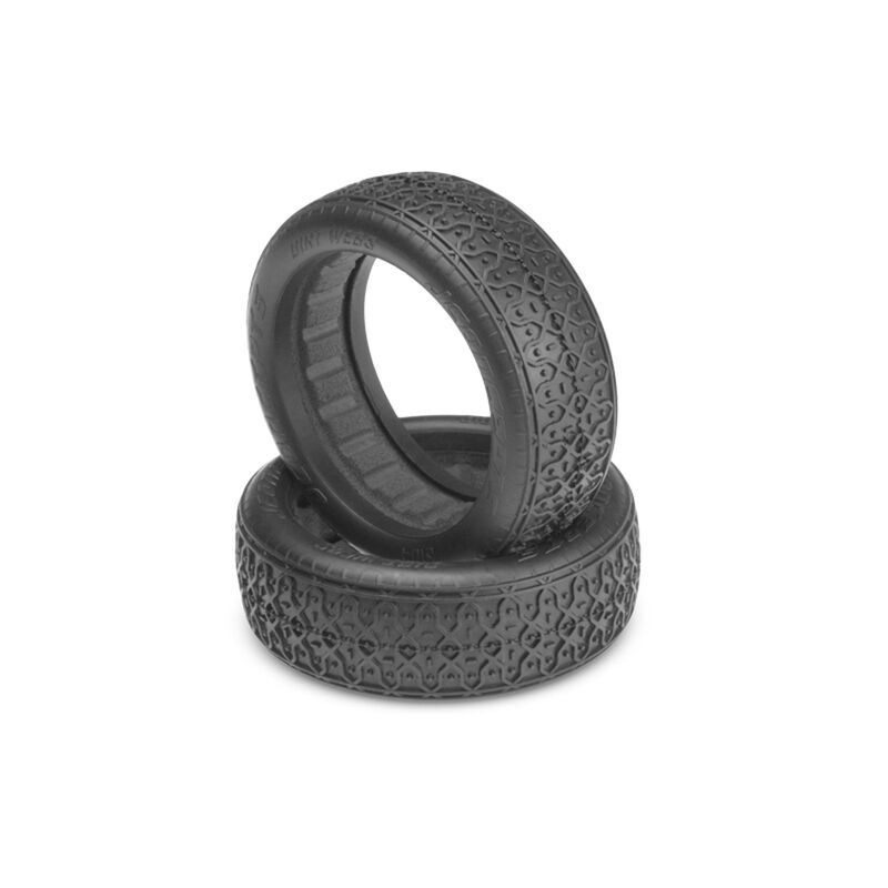Front Dirt Webs, Gold: 60mm 2WD Buggy Wheel