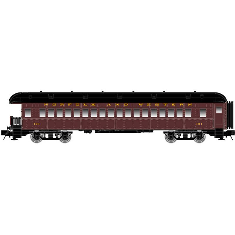 N Trainman 60' Observation Car N&W #101