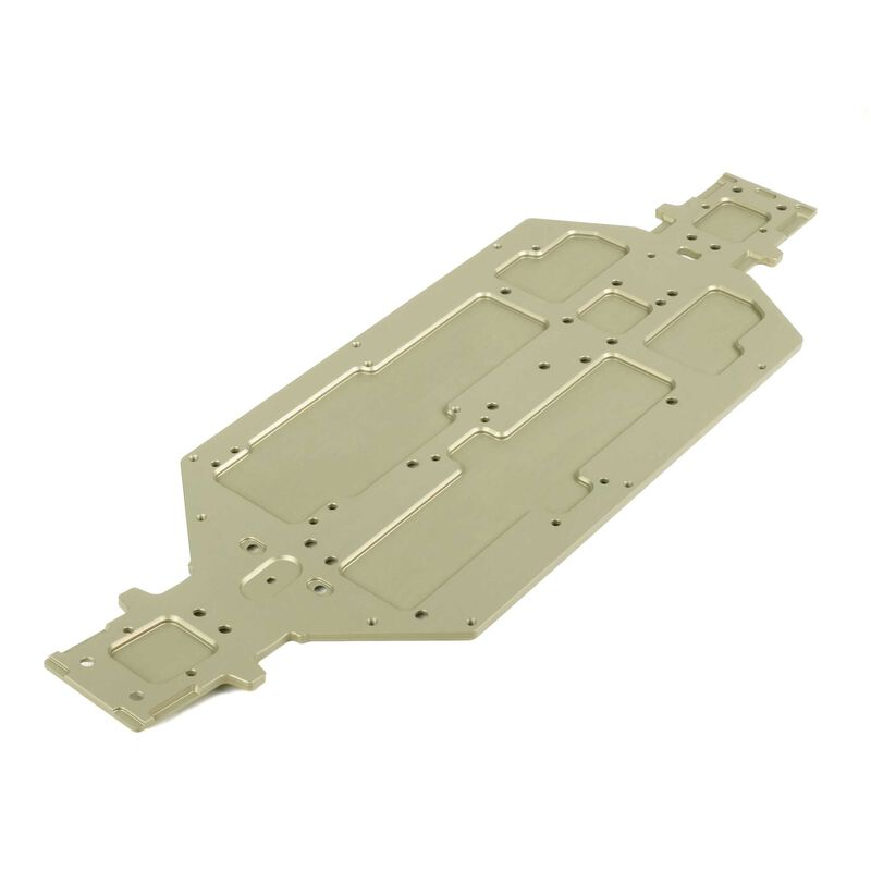 Chassis 7075, Hard Anodized: EB48 2.0