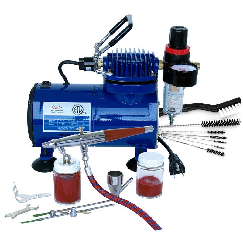 Airbrush & Compressor: VLSET, D500SR, DVDVL & AC7