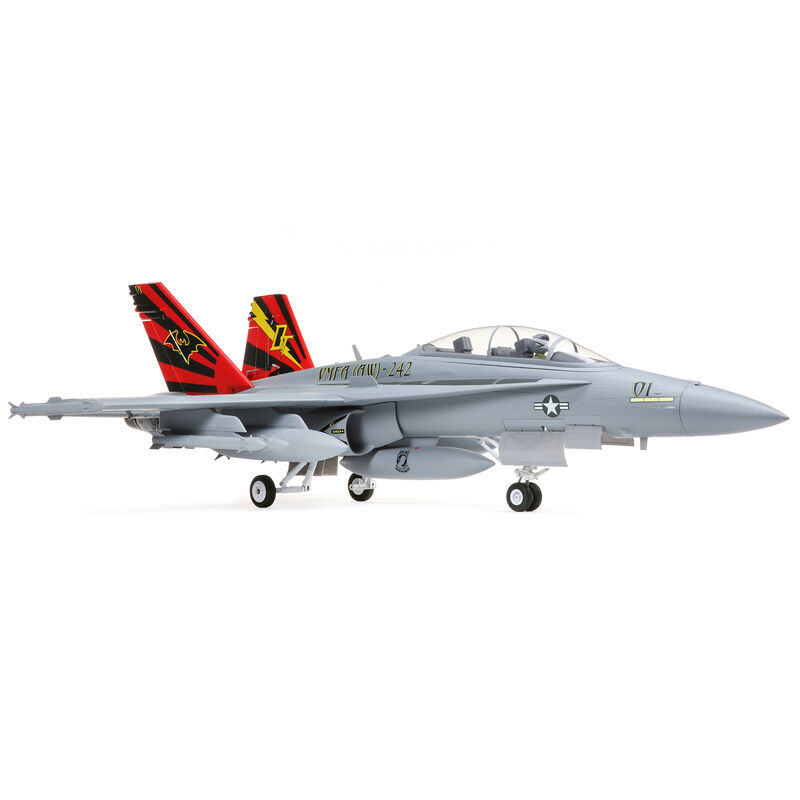 F-18 Hornet 80mm EDF BNF Basic with AS3X and SAFE Select, 980mm