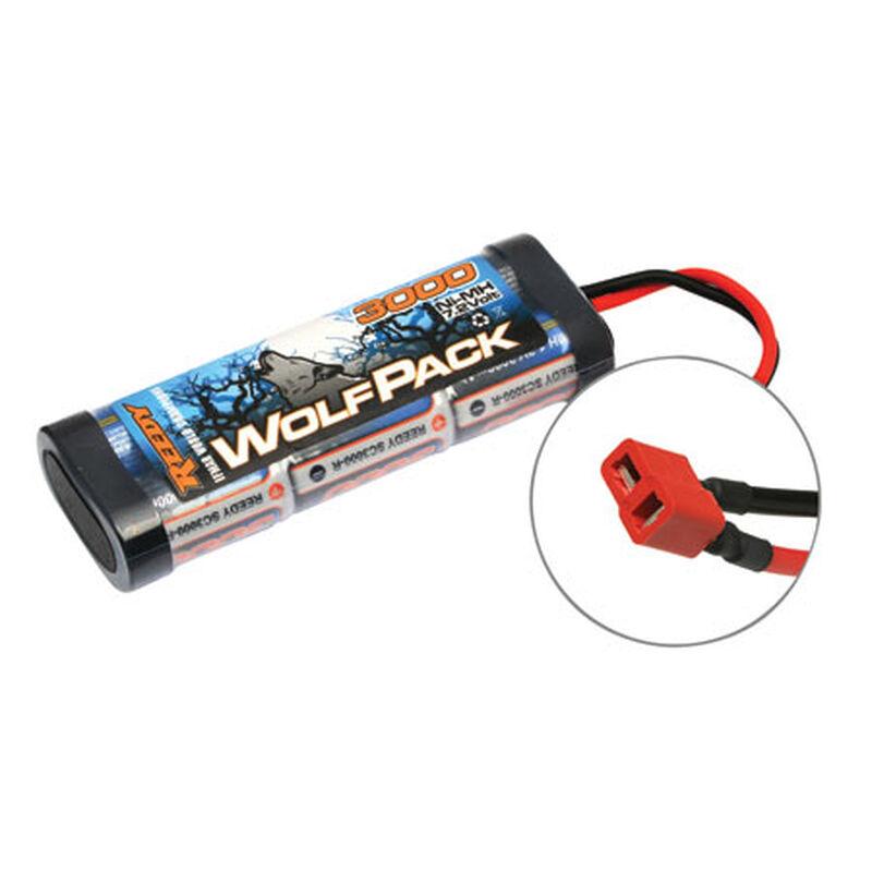 7.2V 3000mAh 6-Cell WolfPack Stick NiMH Battery: Deans