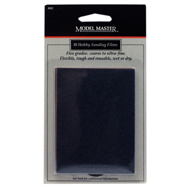 MM Sandpaper, Carded, 5 Grits