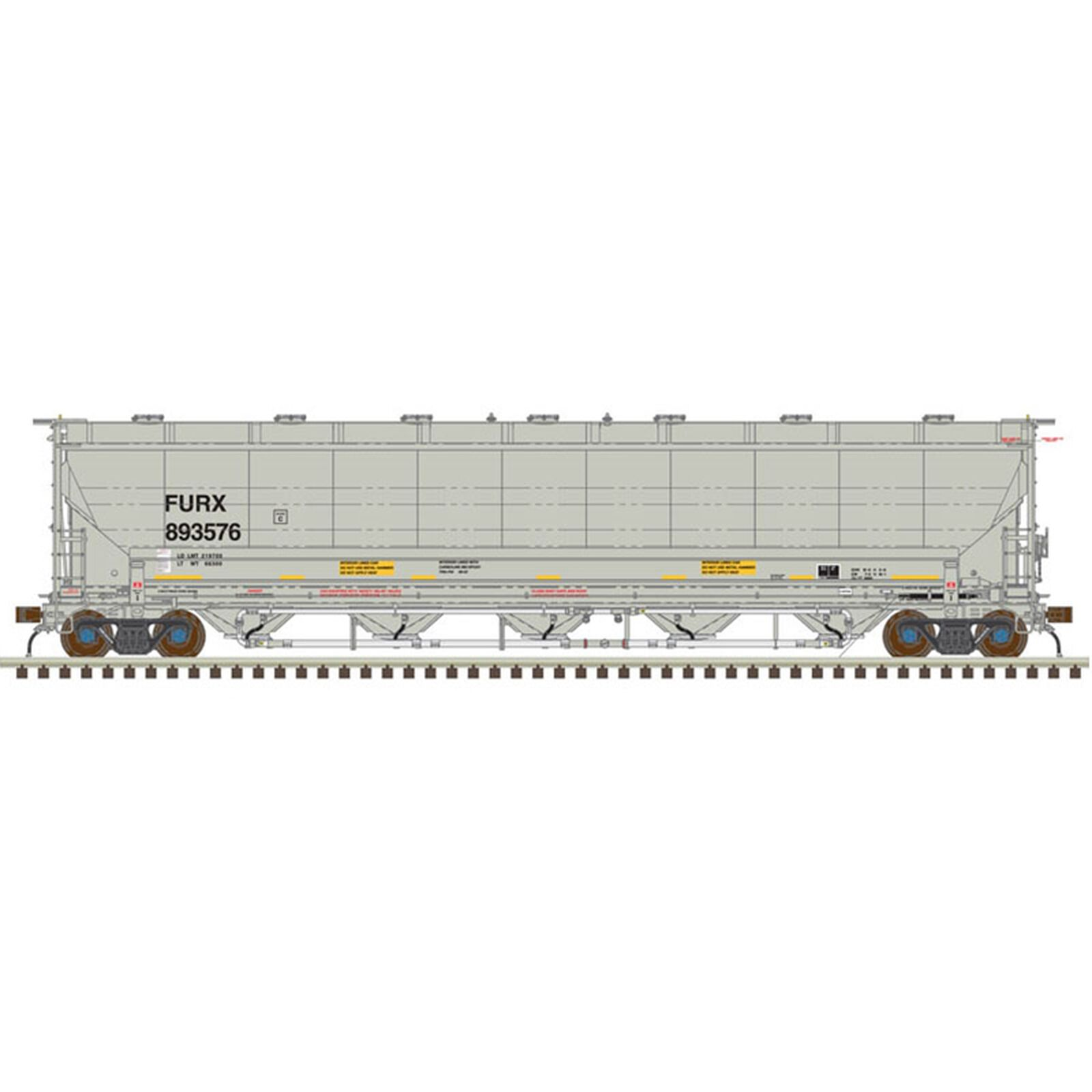 N Trinity 5660 Covered Hopper First Union #893020