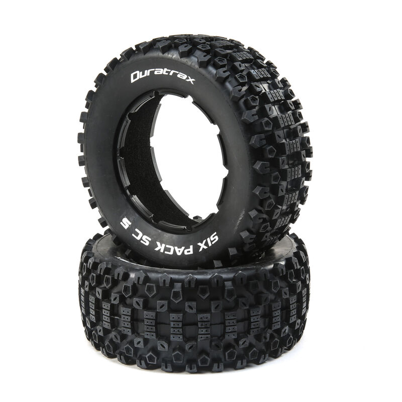 Six Pack 1/5 SC Sport Tires (2)