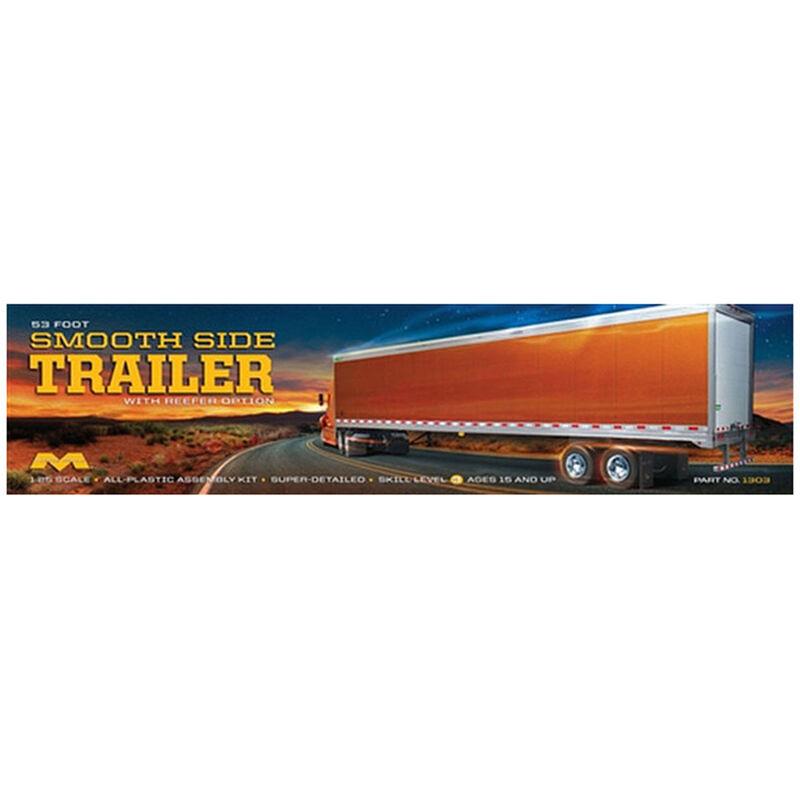 1 25 53'Smoothside Trailer