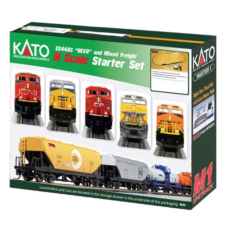 N ES44AC Freight Train Set, CPR