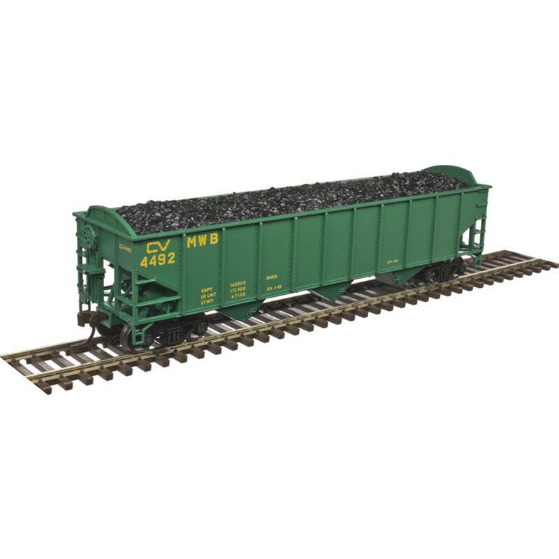 HO Trainman 70-Ton 9-Panel Hopper CV #4497