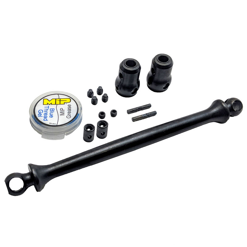 X-Duty Rear Center Shaft Kit: Traxxas UDR