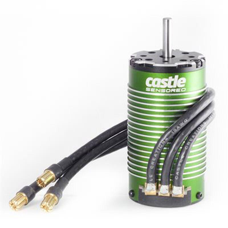 4-Pole Sensored Brushless Motor, 1512-2650Kv: 4mm Bullet