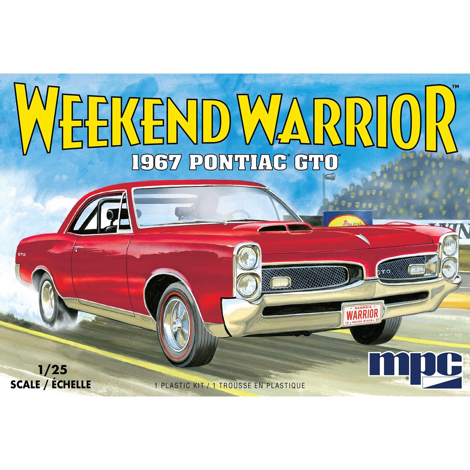 1/25 1967 Pontiac GTO 2T