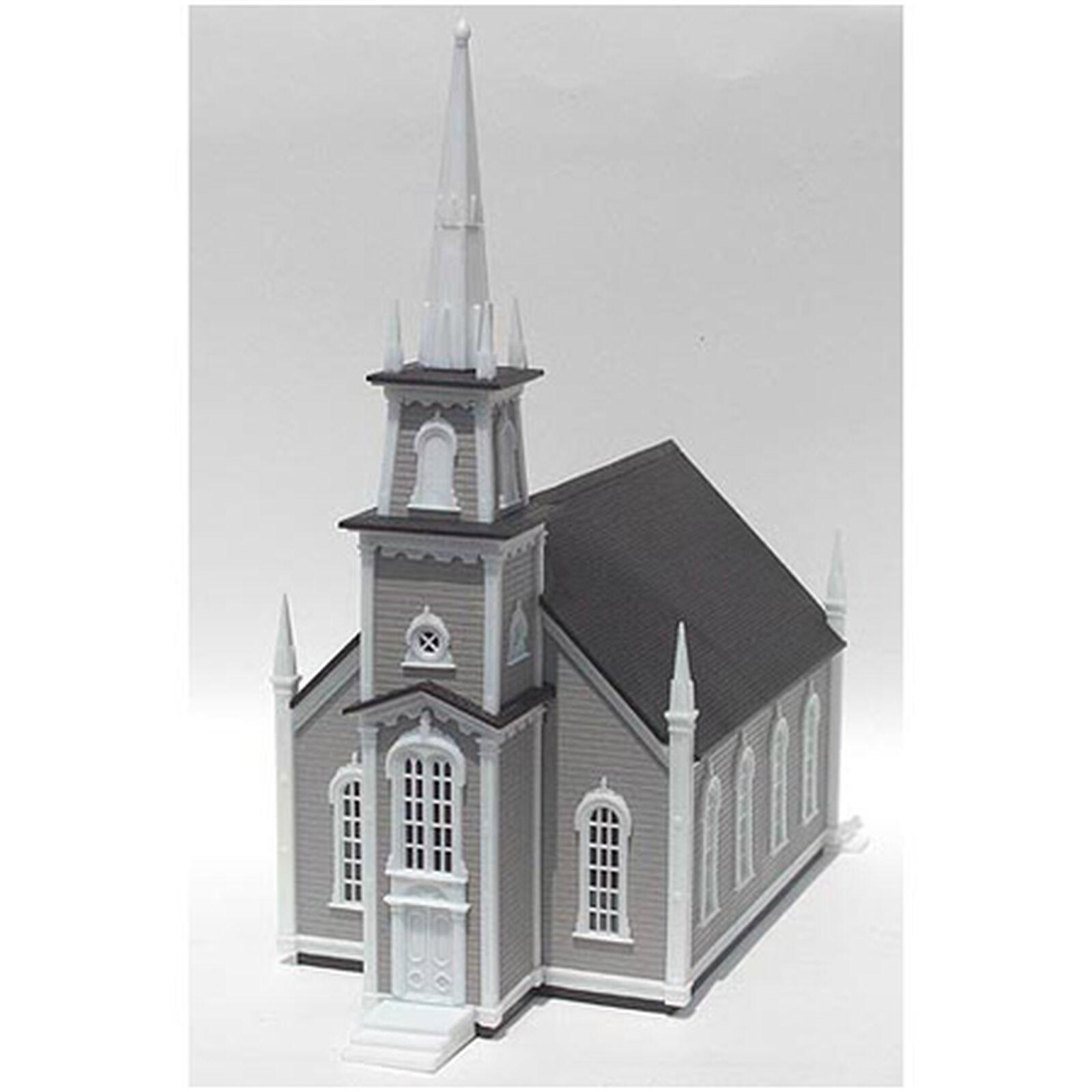 HO KIT 19th Century American Church