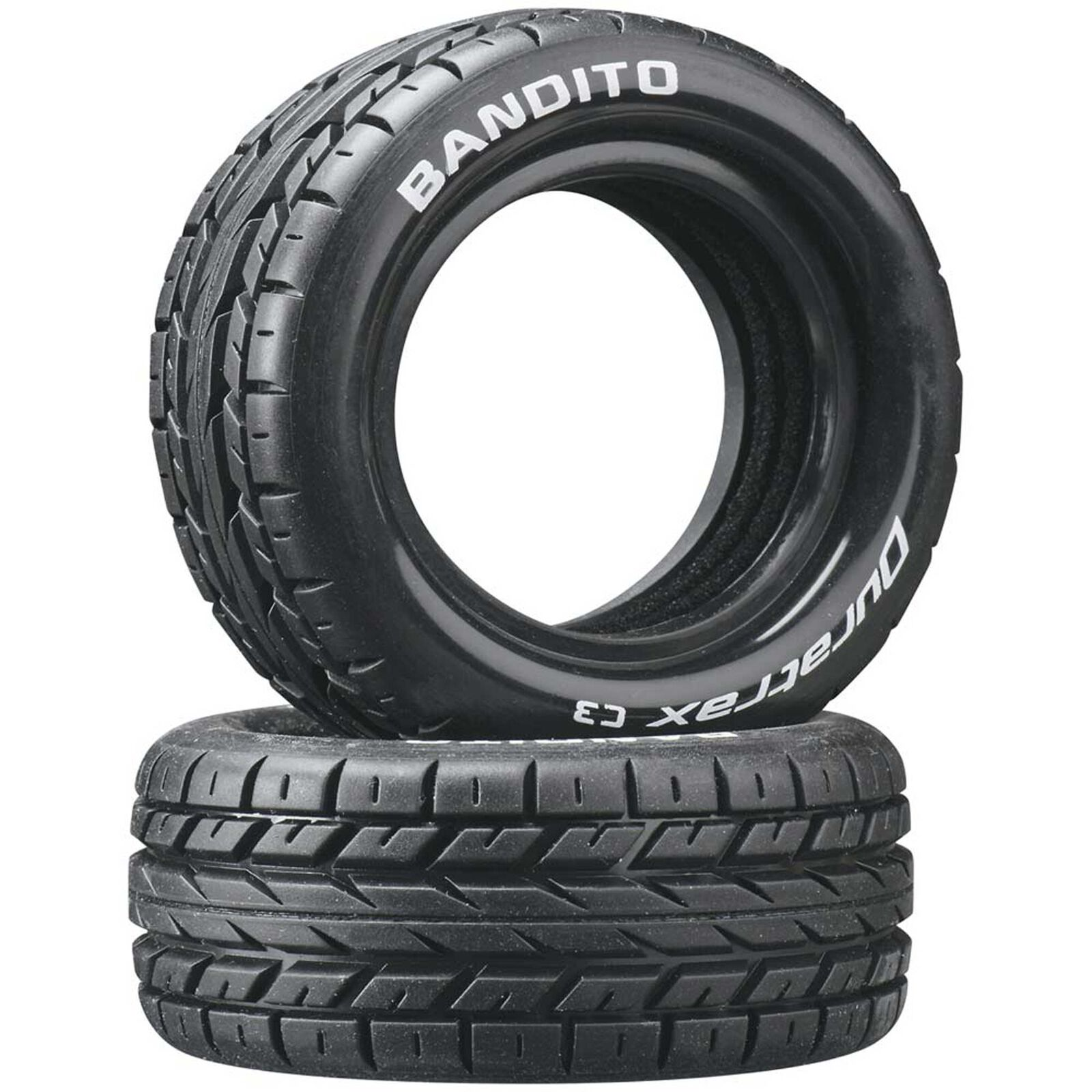 Bandito 1/10 Buggy Tires Front 4WD C3 (2)