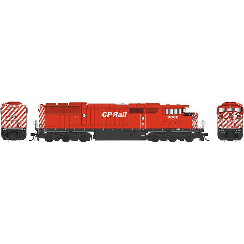 HO SD40-2F CPR Dots #9002