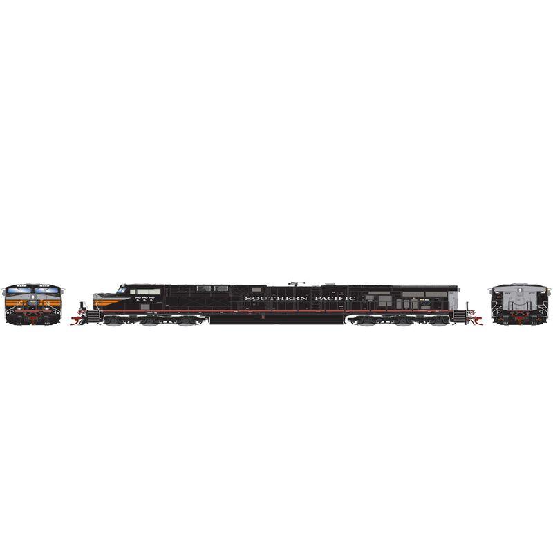 HO ES44AC with DCC & Sound SP Black Widow #777