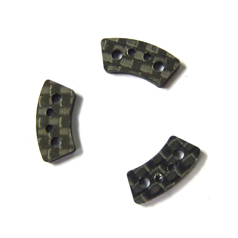 Carbon Fiber Slipper Clutch Pads (3): Traxxas