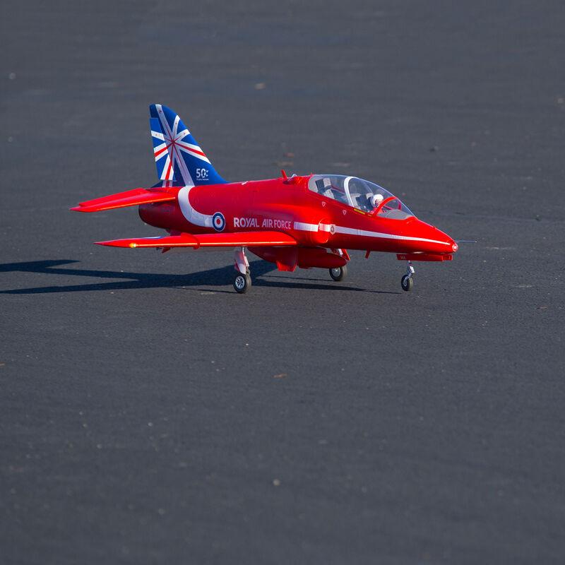 BAE Hawk Red Arrow 80mm EDF Jet PNP, 1042mm