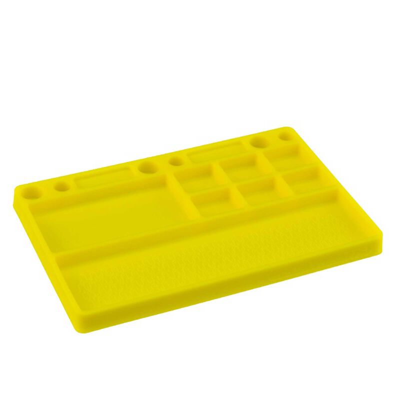 Dirt Racing Parts Tray Rubber Material, Yellow