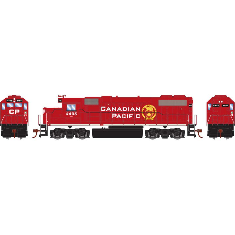 HO GP38-2 with DCC Decoder CPR New Beaver #4405