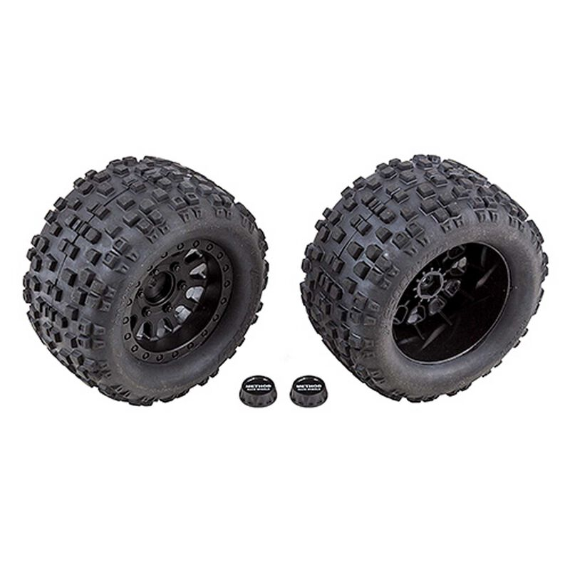 Tires and Method Wheels mounted hex: Rival MT10