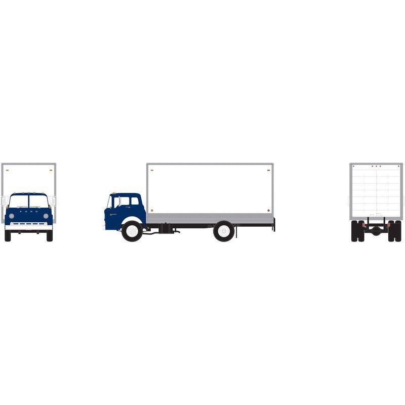 HO RTR Ford C Box Van, Blue
