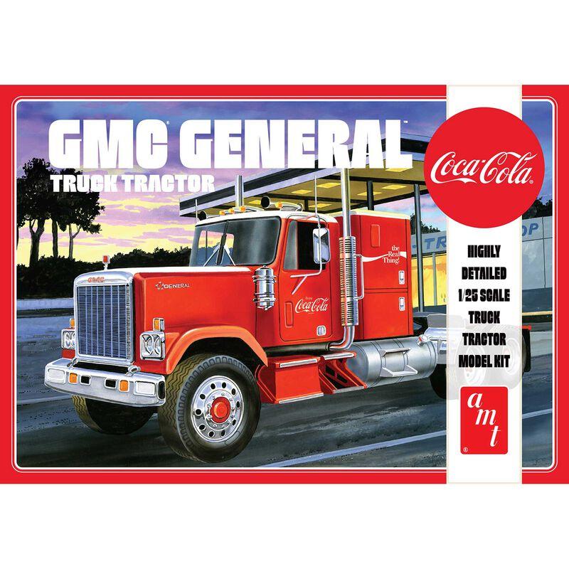 1/25 1976 GMC General Semi Tractor (Coca-Cola)