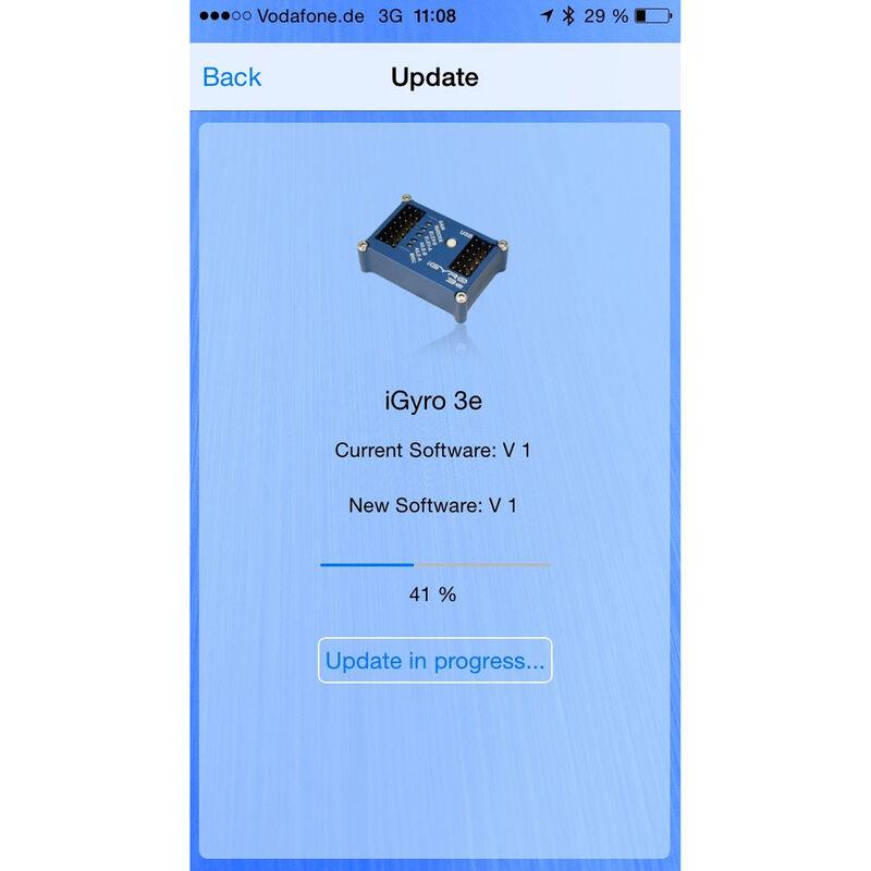 BlueCom Adapter, IOS