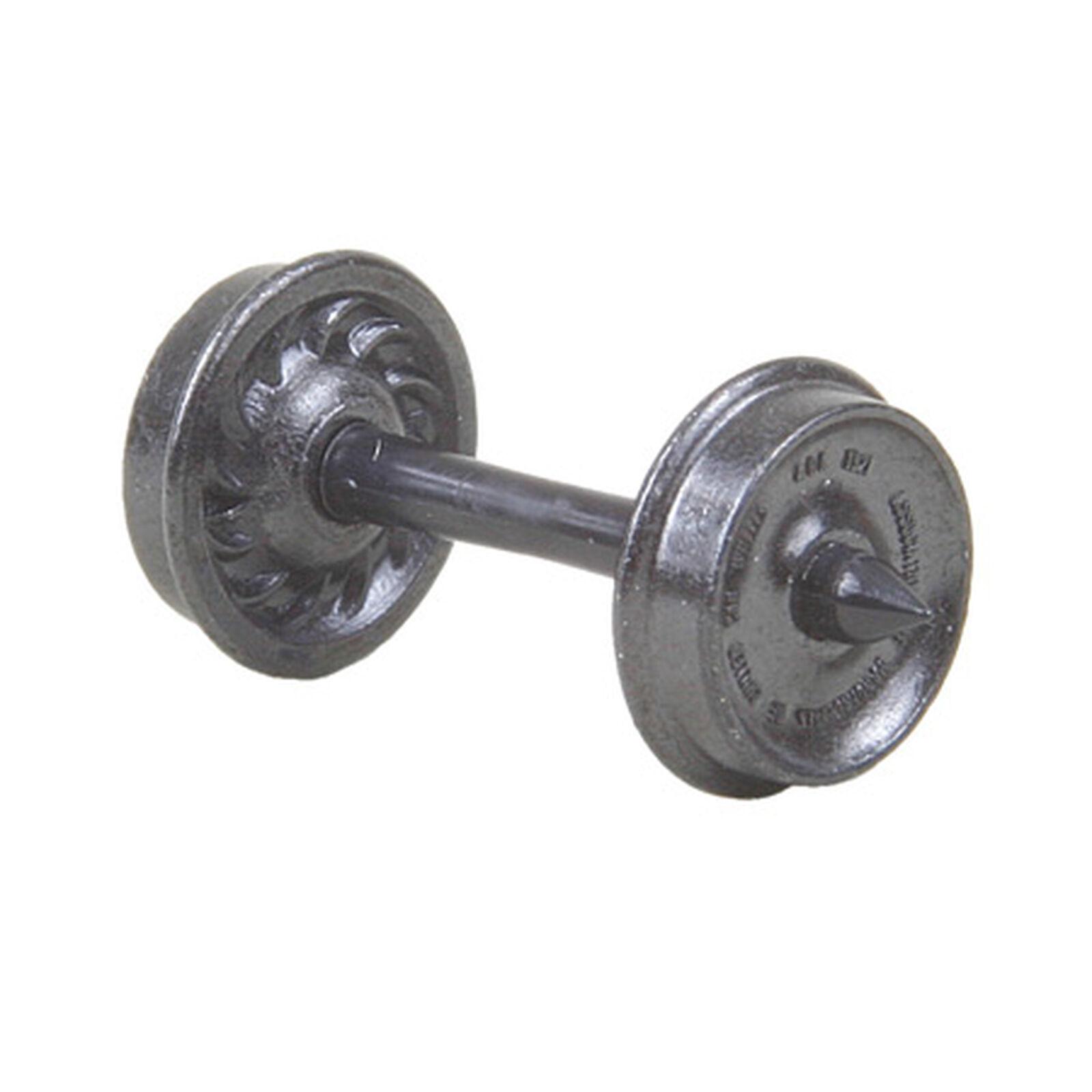 "HO Metal Wheels, 33""/Ribbed (12)"