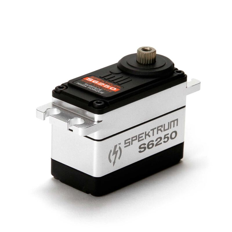 S6250 Standard Digital HV High Torque Metal Gear Waterproof Surface Servo