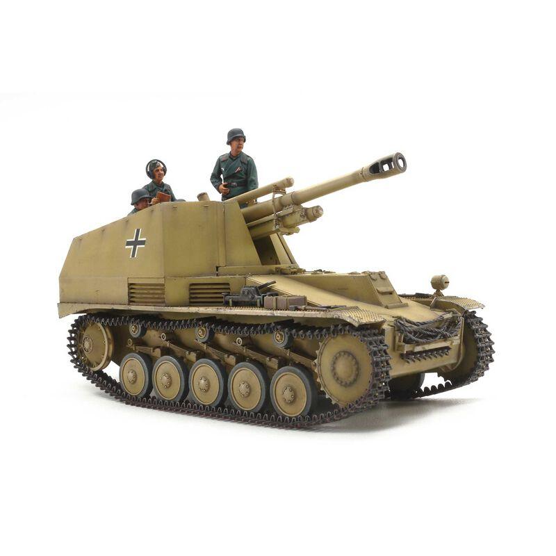 1 35 German Self-Prop Howitzer Wespe Italian Front