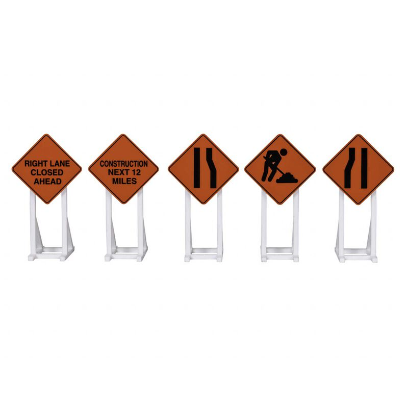 Construction Signs 5-pack