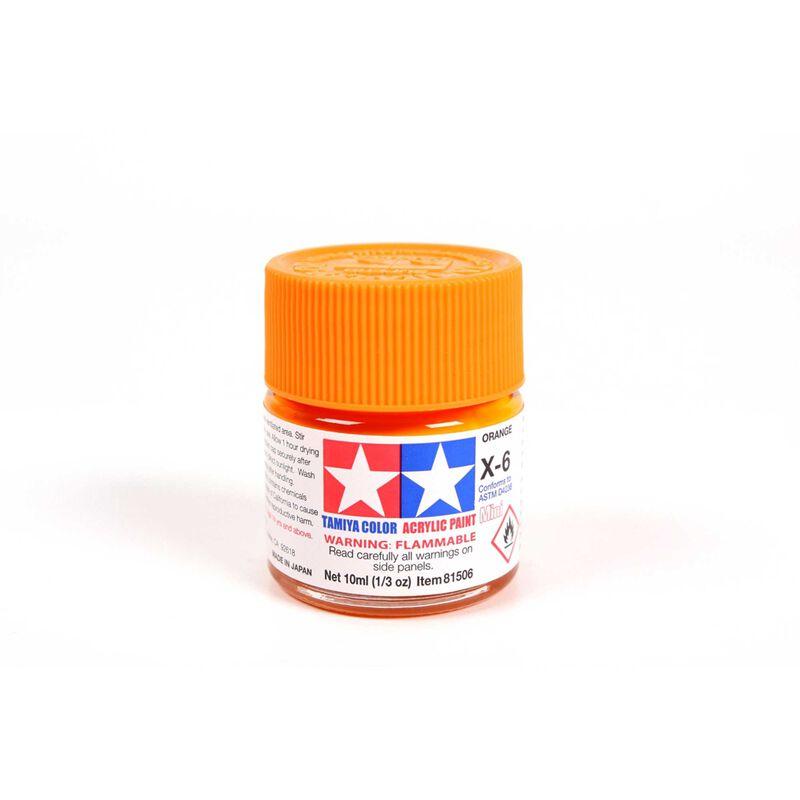 Acrylic Mini X6, Orange