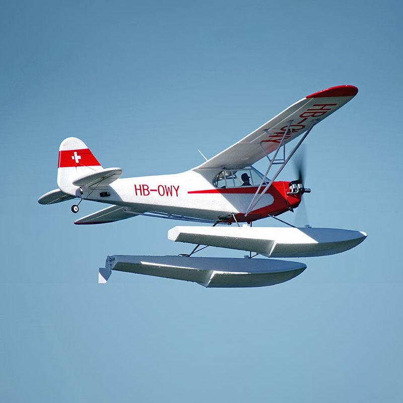 Piper J-3 Cub with Floats 1400mm V4 PNP