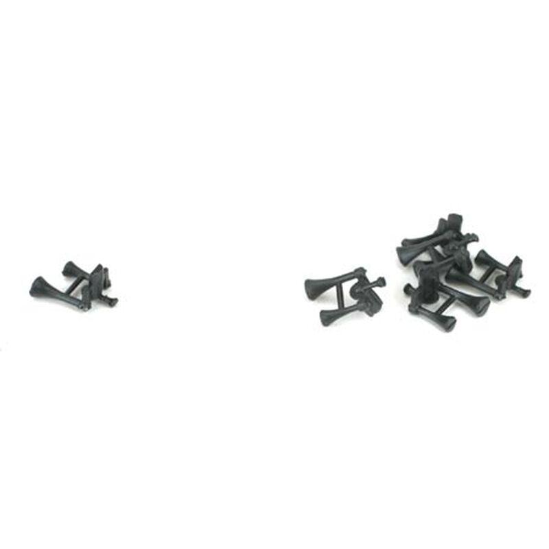 HO Horn, GP35/GP38-2/GP40-2/GP50/GP60/SD45 (6)