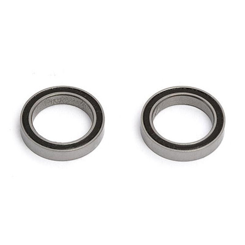 Bearing, 15 X 21 X 4mm (2)