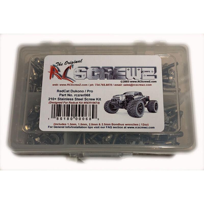Stainless Steel Screw Kit: Redcat Dukono Pro
