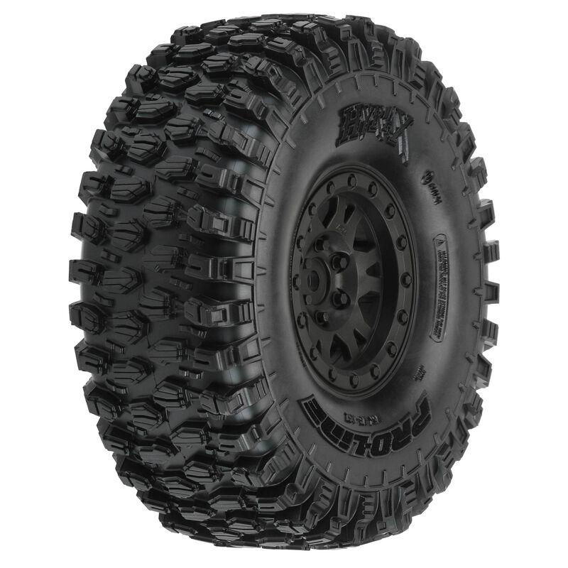 "Hyrax 1.9"" G8 Tires Mounted Impulse Black (2)"