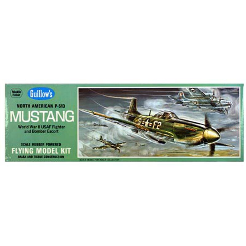 North American P-51D Mustang Kit, 17""