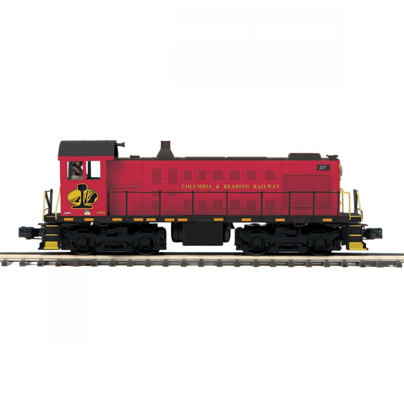 O-27 Alco S2 with PS3 Columbia & Reading #227