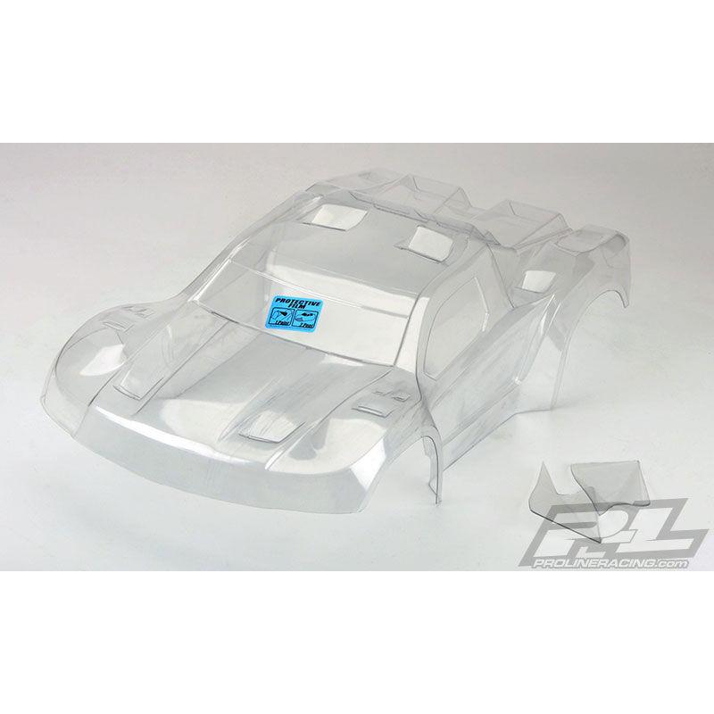 Clear Body, Flo-Tek Fusion Pre-Cut: 1/10 PRO-2 SC, Slash