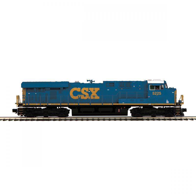 O Hi-Rail ES44DC with PS3 CSX #5225