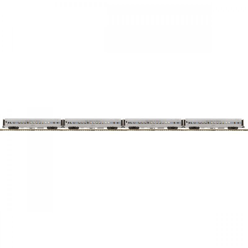 O 70' Streamlined RS Passenger Set GE #352 (4)