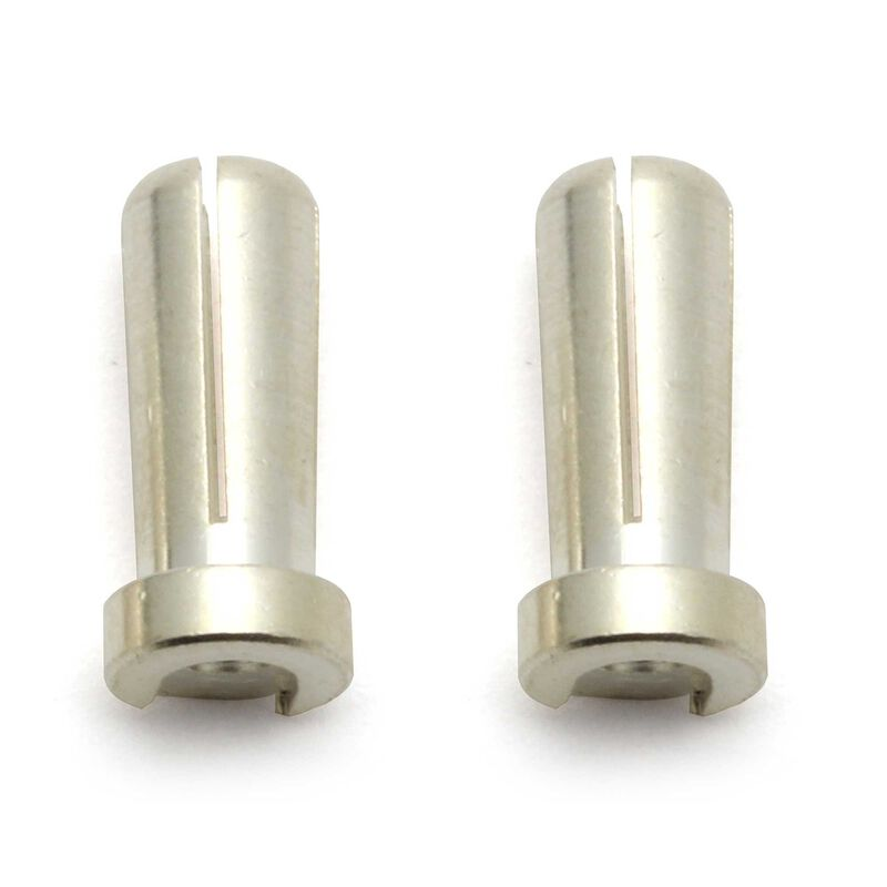 Reedy Low-Profile Bullet Connectors, 5mm (2)