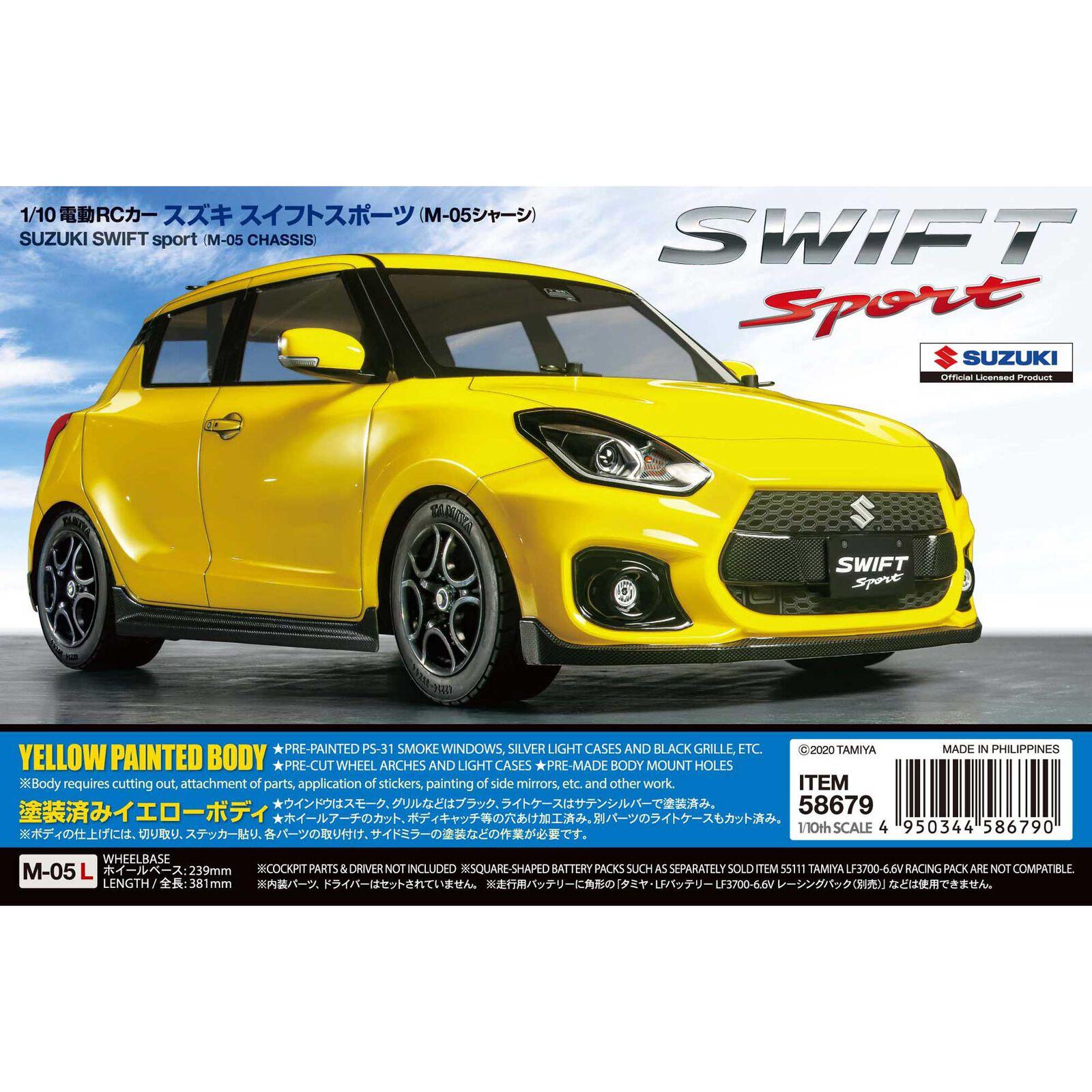 1/10 Suzuki Swift Sport 2WD M-05 Kit