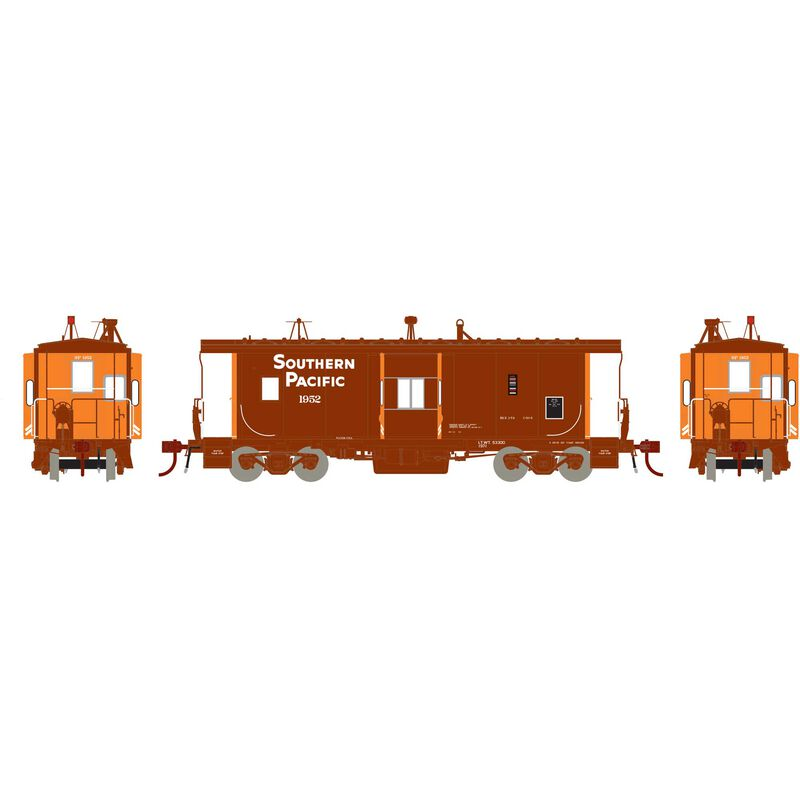 HO ICC Caboose with Lights SP #1952