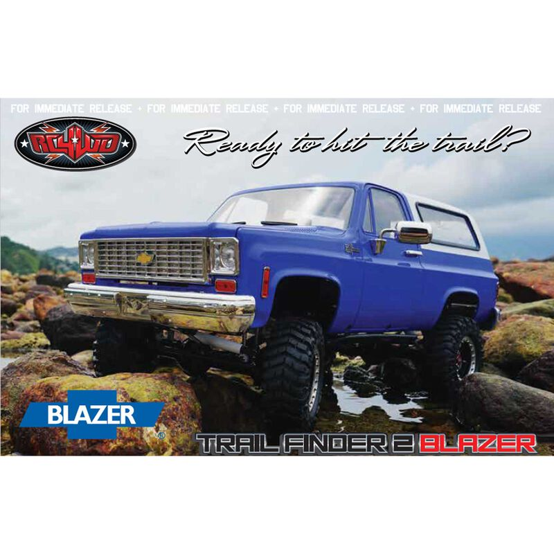 1/10 Trail Finder 2 4WD Truck Brushed RTR Limited Edition, Chevy Blazer Body